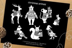 Christmas vector graphic set Product Image 3