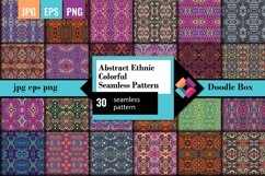 Abstract Ethnic Colorful Seamless Pattern Product Image 1