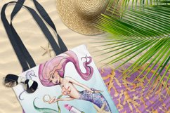 Mermaid clipart Product Image 3
