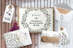 Nature & floral logos + BONUS Product Image 4