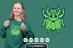 Skull Insects Monsters for T-Shirt Design Product Image 1