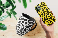 Cheetah Leopard SVG Print, Seamless Vector Animal Pattern Product Image 3
