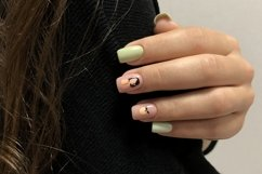 Bright multi-colored design of manicure Product Image 1