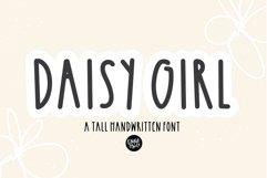DAISY GIRL a Tall Sans Serif Farmhouse Font Product Image 1