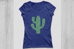 Cactus svg, cactus clipart, Cactus Monogram Svg. Product Image 3