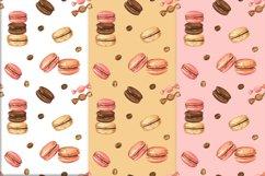 Sweet Macarons Seamless pattern/ digital paper, jpg, png Product Image 3