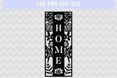 Home SVG Cut File, Housewarming Sign Designs, DXF EPS PNG Product Image 4