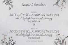 Quaint Garden Floral Font EXTRAS Product Image 4