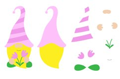 Spring Gnomes SVG. Gnome Cut Files. Product Image 2