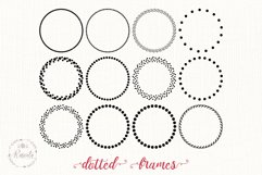 Dotted Circle Wreaths Frame Product Image 4