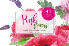 Watercolor Floral Bundle Product Image 4