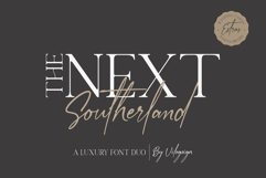 The Next Southerland Luxury Font Duo Product Image 3