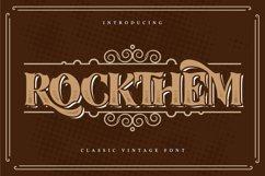 Rockthem   Classic Vintage Font Product Image 1