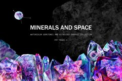 Minerals and space. Astrology set Product Image 1