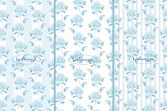 Roses. 3 seamless patterns Product Image 1