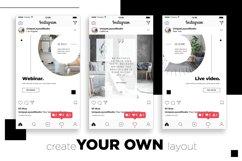 Interior Designer Instagram Posts Template | CANVA Product Image 4