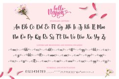 Lovely Script Font - Hello Najwa Product Image 4