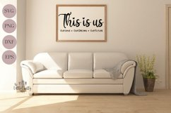 This is us SVG, PNG, Craft file Product Image 2