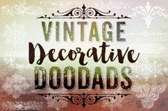 Decorative Photoshop Brushes - Vintage Decorative Clipart Product Image 1
