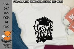 Class of 2021 SVG for Glowforge Papercutting Sublimation Product Image 1