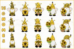 Gnome Bee, Summer Gnome, Sunflower Gnome Product Image 2