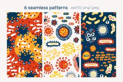 BACTERIUMS patterns & illustrations Product Image 5