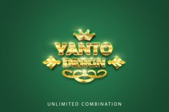 3D Gold Text Effect Product Image 5