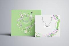 Irises. Watercolor Floral Set. Part2 Product Image 5