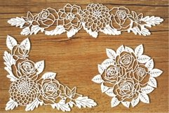 Floral Decorations 1 SVG files for Silhouette and Cricut. Product Image 1