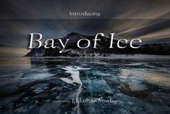 Bay of Ice Font Product Image 1