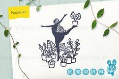 House Plants svg, Gardening Vector Cut File, plants svg Product Image 1