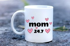 Mother Day Saying SVG. Mom SVG. Mom Quotes. Mug Sublimation Product Image 3
