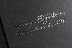 Signature TypeFace Product Image 5