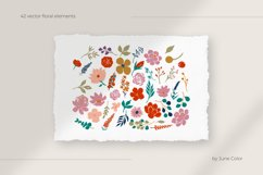 Floral patterns. Vector collection of abstract flowers. Product Image 3