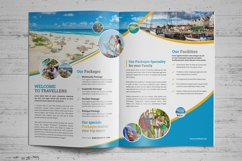 Holiday Travel Bifold & Trifold Brochure v2 Product Image 3