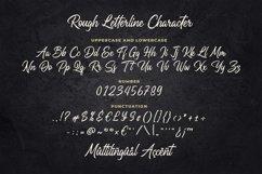 Rough Letterline Authentic Brush Font Product Image 4