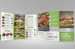 Food Menu Trifold Brochure v2 Product Image 6