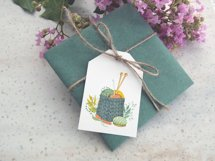 Watercolor Knitting and Crochet Clipart Product Image 5