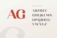 michael beautiful ligature font Product Image 13
