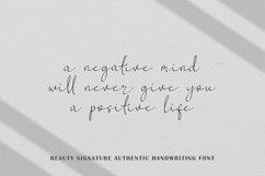 Beauty Signature Script Handwritten Product Image 3