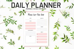 Colorful Daily Planner Printable Product Image 1