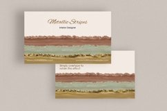 Metallic Rose Gold, Gold and Silver Business Card Template Product Image 3