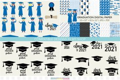 Graduation stickers | Class of 2021 graduation PNG stickers Product Image 3