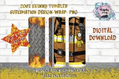 20oz  Yellow  Beige Split   Sublimation Tumbler Wrap  Product Image 1