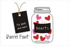 Barrel Font Product Image 1