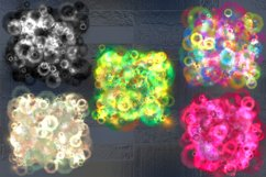 Bright colorful magic splashes. Product Image 3