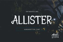 Allister Product Image 1