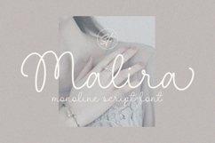 Malira - Monoline Font Product Image 1