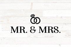 Wedding SVG bundle signs plus clipart Product Image 2