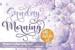 Sunday Morning- Modern Calligraphy Product Image 1